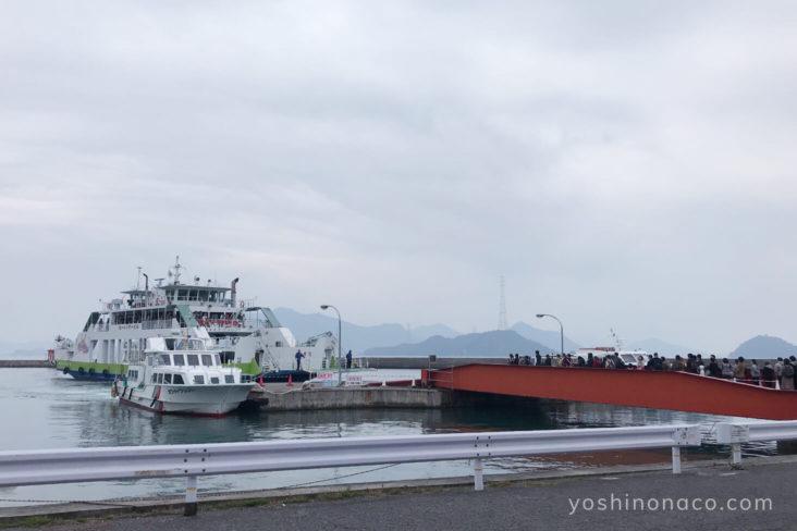 大久野島 フェリー&客船